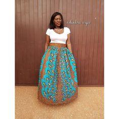 Dura Kente Maxi Skirt Ankara Maxi Ankara Skirt ($70) ❤ liked on Polyvore featuring skirts, grey, women's clothing, gray maxi skirt, long gray skirt, grey maxi skirts, long african skirts and long maxi skirts