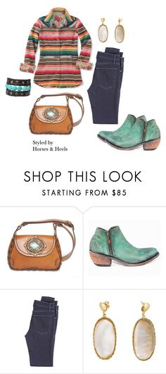 """""""Serape Style"""" by horsesandheels on Polyvore featuring Liberty Black and McGuire Denim"""