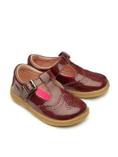 Chipmunks Girls Eva shoes, Red