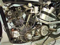 Tricycle, Ducati, Ferrari, Guzzi, Street Tracker, Motorcycle Engine, Old Bikes, Classic Bikes, Scrambler
