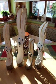 Holz Osterhase Hase Osterdeko Holzfigur Ostern Handarbeit          #28 in Möbel & Wohnen, Feste & Besondere Anlässe, Jahreszeitliche Dekoration | eBay!