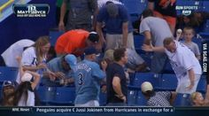 LIKE When you see it . . : too funny : baseball game : where did the baseball go : funny picture