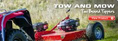 Tow and Farm  http://www.towandfarm.co.nz/ Tow and Farm New Zealand offer the best agricultural and farming equipment on offer including sprayers, spreaders, and tow behind ATVs.