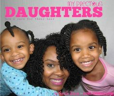 Caring for Your Daughter's Natural Hair | Curly Nikki | Natural Hair Care
