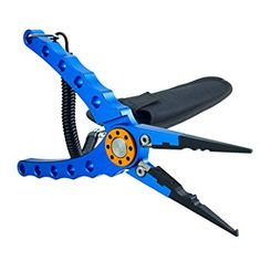 Aluminum Fishing #Pliers Hook Removers #Fishing #Line Cutters with Coiled Lanyard and Belt Holder Sheath