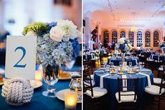 Blue and White Maritime Wedding