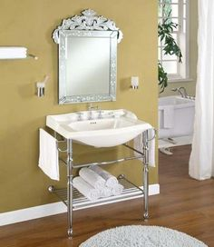 "26"" console sink 