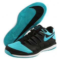 detailed look fb1a3 af7d4 Nike Air Zoom Vapor X HC Men s Tennis Shoes Sky Racket Racquet Court  AA8030-003