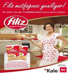Filiz Makarna Çekiliş Kampanyası - Filiz Makarna Mutfak Yenileme Çekilişi  http://www.kampanya-tv.com/2013/06/filiz-makarna-cekilis-kampanyas-filiz.html