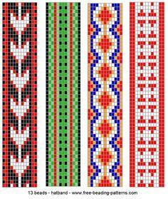bead loom patterns - Buscar con Google