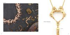 The Bill Skinner Studio Autumn / Winter 2015 Lookbook Fall Winter, Autumn, Wild Horses, Gold Necklace, Chain, Studio, Jewelry, Fall, Jewels