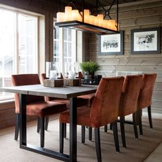 Dining Room, Dining Table, Cottage, Cabin, Interior, Furniture, Home Decor, Chair, Mountain Houses