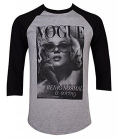Vogue Marilyn Monroe Mens Baseball Shirt (XL, Gray) Private Label http://www.amazon.com/dp/B00MVCFXCA/ref=cm_sw_r_pi_dp_cfDcub0BYPZFH