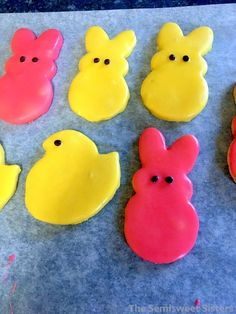 Quick and Easy Easter Shortbread Cutout Cookies