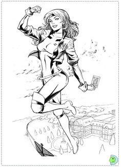 X Men Coloring Page | Comic Book Coloring Pages | Pinterest | Emma ...