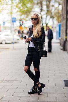 Cinco looks para vestir de negro en invierno. Colores oscuros que podemos combinar a la perfección. http://www.liniofashion.com.pe/linio_fashion/ropa-dama/