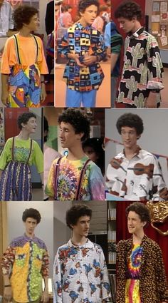 """Classic Screech.   The Ultimate Guide To """"Saved By The Bell"""" Fashion"""