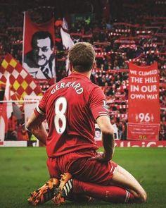 A true red🔴 at heart. But Football, France Football, Football Quotes, Liverpool Legends, Liverpool Fans, Liverpool Football Club, Premier League, Steven Gerrard Liverpool, Stevie G
