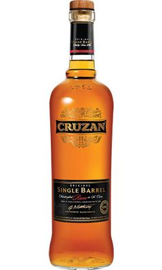 Cruzan Single Barrel Estate Rum  Having made rum on St. Croix since 1760, Cruzan has built up centuries of distilling knowledge, and they've used all of it to create Cruzan Single Barrel Estate Rum ($65). A handcrafted blend of multiple different rums aged up to 12 years old, Single Barrel is blended and then aged further in a new charred oak barrel for another year, giving the libation a terrific golden brown color and smooth, complex taste with notes of pepper, wood, and caramel. #rum…
