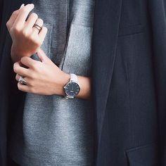 Keep it simply sophisticated. #CLUSE #watch #fashion - @catarinafilipasm  #minimalism #inspiration