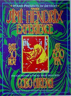 Hendrix / Cobo Hall 1968