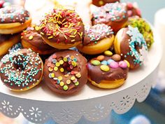 Mini Donuts for the Donut Maker by Mini Donuts, Doughnut, Cupcake Maker, Yeast Donuts, Gluten Free Donuts, Cupcakes, Donut Recipes, Popular Recipes, No Bake Cake