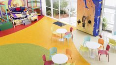 Marmoleum flooring - Naturally hygienic eco-conscious linoleum from Forbo Flooring Systems
