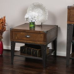 Christopher Knight Home Quinn Wood End table 22 x 24 x 24