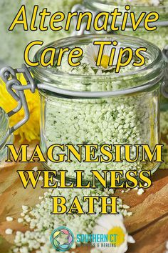 Did you know magnesium deficiency can be linked to a wide array of health problems including high blood pressure, insomnia, migraines, skin issues, and seizures? In addition to eating a diet rich in magnesium and using magnesium supplements, you can directly absorb this important mineral by using magnesium bath flakes while soaking in the tub. Remember to check with your physician before you try a magnesium soak! #SCWH #Magnesium #MagnesiumDeficiency #AlternativeHealing