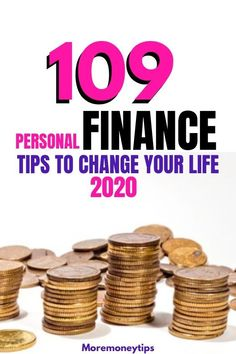 This collection of 109 personal finance tips will give you that extra edge to supercharge your finances. MOREmoneytips.com #personalfinancetips #moneymangement #moneytips