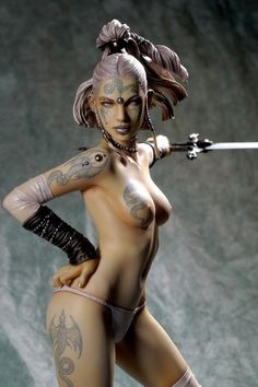 Fantasy Figure Gallery Luis Royo - Ritual PVC Figure [YMT348998] - $119.99 : Hobbygen.com, Your online source for quality hobby products and...