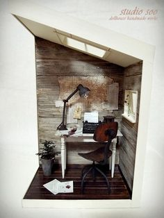 Studio Soo - Writer's room.