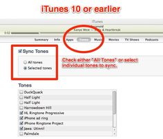 iTunes 10 select tones to sync How To Create a Free iPhone Ringtone Using iTunes Crafts For Kids To Make, Diy Projects To Try, How To Make, Ringtones For Iphone, Iphone Hacks, Free Iphone, Things To Know, Good To Know, Technology