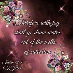 Isaiah 12:3 KJV