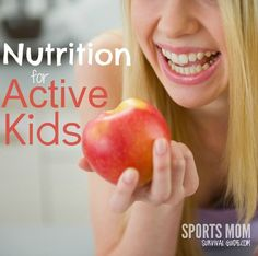 Nutrition ideas for active kids and athletes.