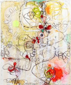 Janet Lage Art Journal Pages, Art Journals, Abstract Paintings, Abstract Art, Fruits Drawing, Illustrations, Mark Making, Sketchbooks, Watercolors