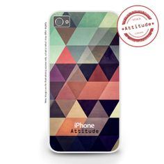 iPhone 4/4S iPhone 5/5S/5C Geometric Multi by AttitudeCases, £10.99