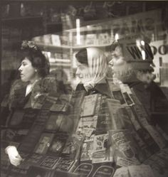 Saul Leiter - Untitled, 1951