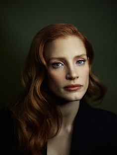 Jessica Chastain- a very talented actress- and classic beauty