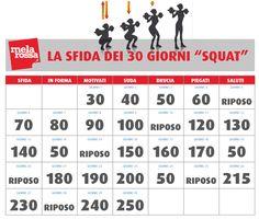 Il programma di squat per glutei e cosce più sodi in 30 giorni