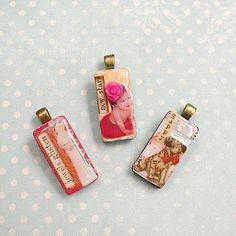 Create this project with DecoArt Media® — Images and words of your choice personalize pendants made with DecoArt Media®.