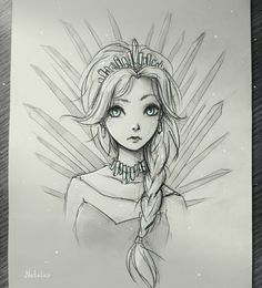 Ice Queen by natalico on DeviantArt