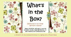 blog for workboxes ideas
