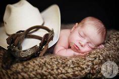 Little Cowboy newborn---Aunt Kendra's Lil Man!