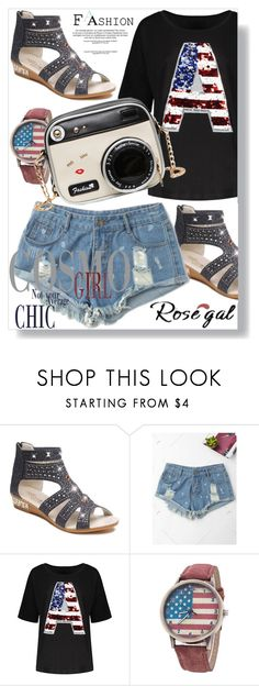 """Rosegal"" by man0lya ❤ liked on Polyvore"