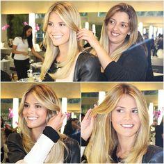 Lala Rudge e Renata Souza.