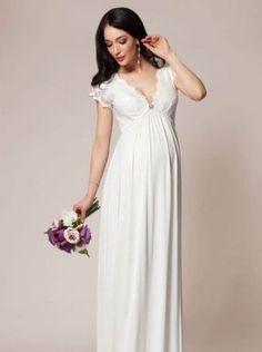 20 Elegant Wedding Dresses For Pregnant Brides Wedding Dresses Pregnant  Brides 6ab3e281c20ea