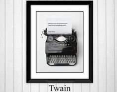 Gifts for Writers Writer's Quote Aton Chekhov by TypImageArt