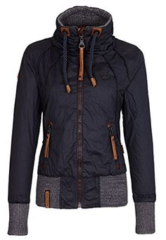 Naketano Women's Jacket Schlagerstar III (S, Dark Blue) Naketano http://www.amazon.com/dp/B00S55JWLK/ref=cm_sw_r_pi_dp_iIVUvb00NWH8E