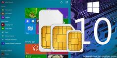 Windows 10: con tarjeta SIM propia